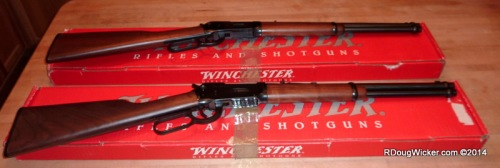 A Pair to Draw to — Winchester Model 1894 Rifles