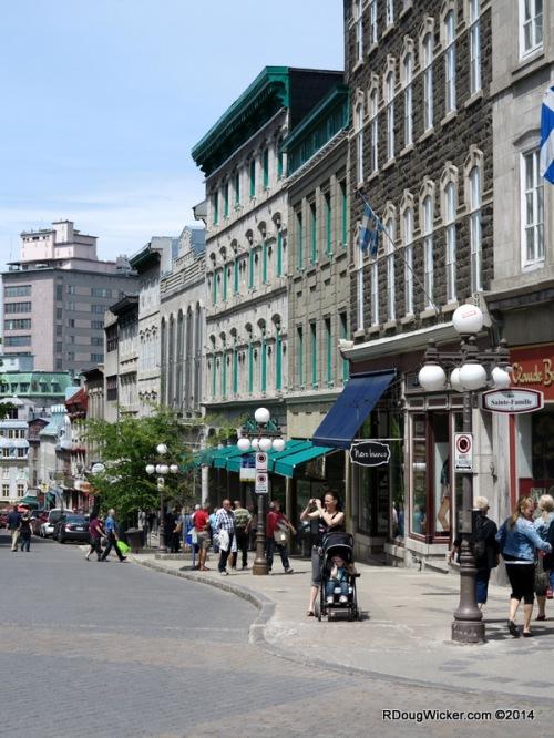 Upper Town Québec