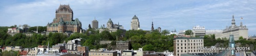 Our First Sight of Québec City