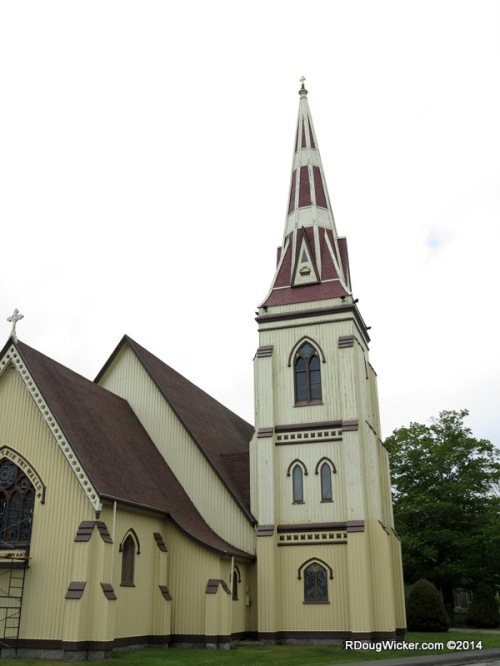 St. James Anglican, newest of the lot — 1887
