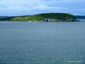 Departing Bar Harbor