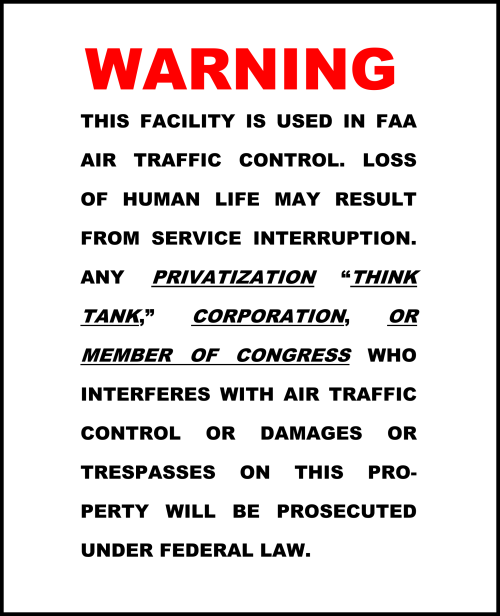 How FAA Warning Signs SHOULD Read