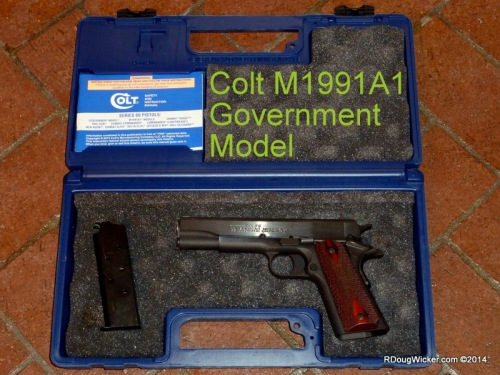 Colt M1991A1 Government Model
