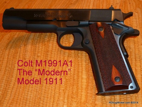 """Colt M1991A1 — The """"Modern"""" Model 1911 with Series 80 firing system"""
