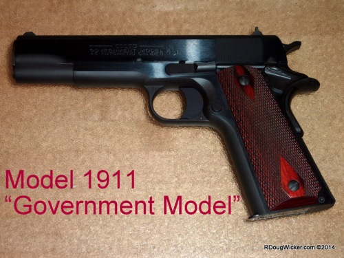 "M1911 ""Government Model"""