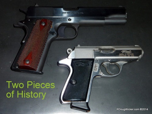Two Pieces of History — Colt M1911 and Walther PP-series