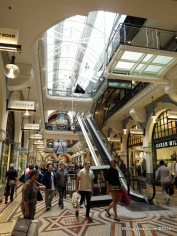 Shopping in the QVB