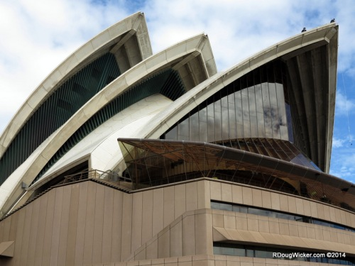 Sydney Opera House up close