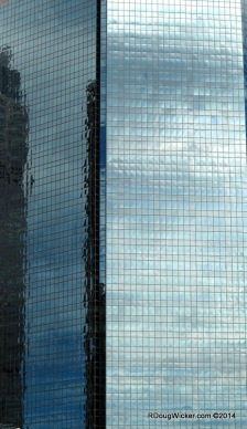 Blue Sky and Glass