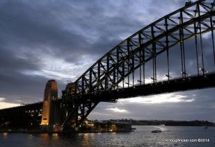Ferry Run at Night