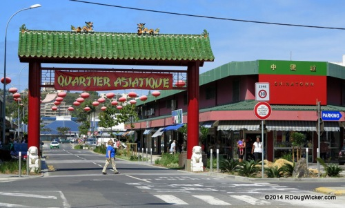 Nouméa Polynésia Chinatown