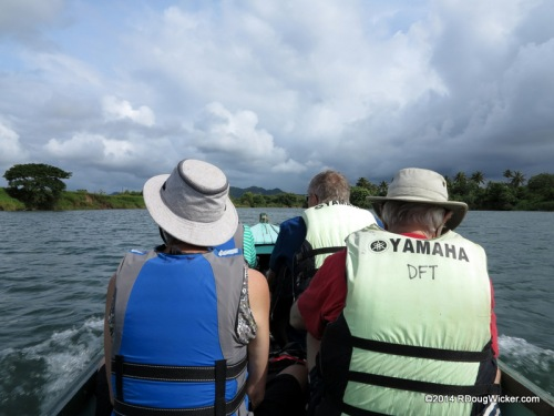Navua River boat ride