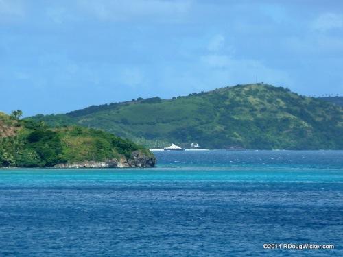 Neighboring Yaukuve Levu Island