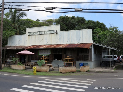 Waiahole Poi Factory — The place to go for roasted pork