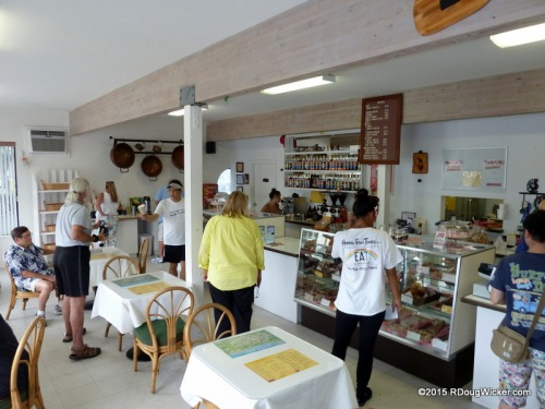 Inside Agnes' Portuguese Bake Shop
