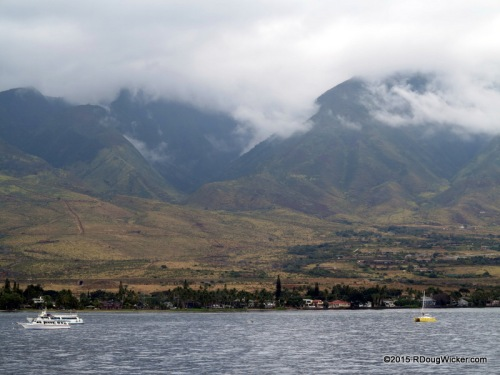 Mountains overlooking Lahaina