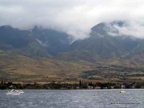 Mountains overlooking Lahaina