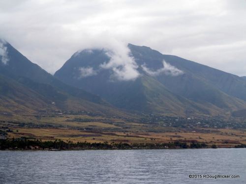 The mountains of Western Maui