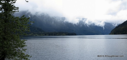Lake Crescent Panoramic