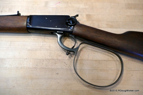 """Lucas McCain Special"" Loop-levered M1892 rifle with trigger trip"