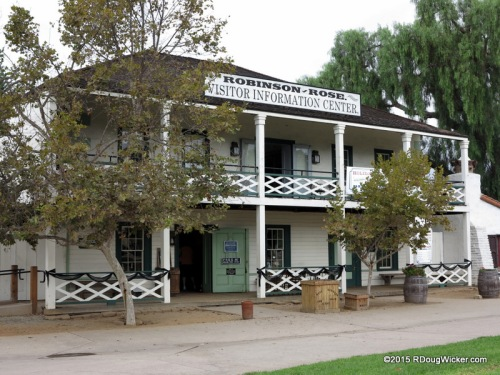 "The supposedly ""haunted"" Robinson Rose House — now a Visitor Information Center"