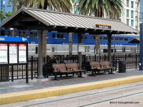 Passenger Platform at Union Station, San Diego