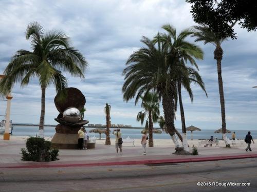 The La Paz boardwalk