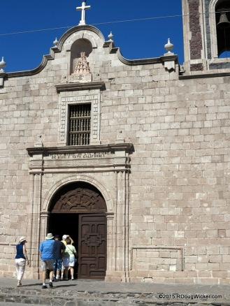 Loreto Mission entrance