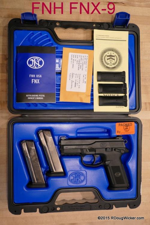 FNH FNX-9 complete kit