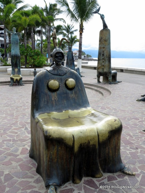 A Chair Pair — A chair located in Alejandro Colunga's Roundabout of the Sea