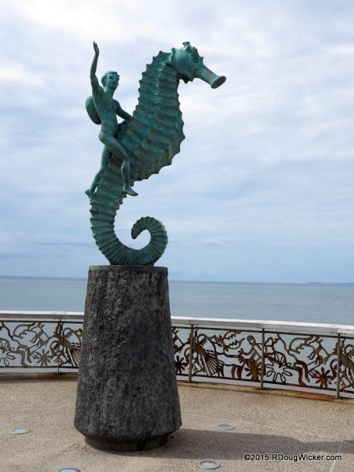 "The Unofficial ""Symbol"" of Puerto Vallarta — ""Caballito de Mar"" (Seahorse), Rafael Zamarripa"