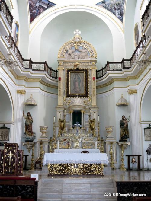 Altar and Reredos