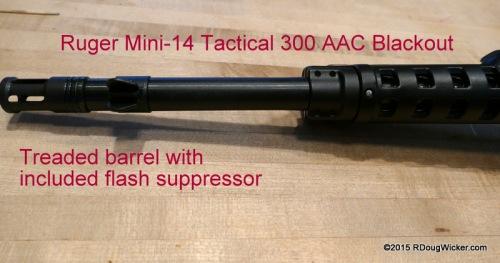 Threaded Barrel and Flash Suppressor