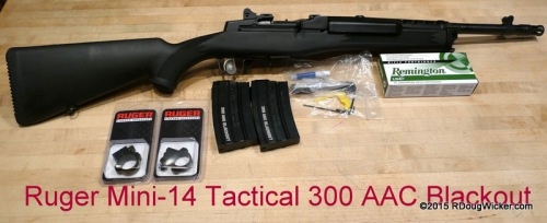 Ruger Mini-14 300 AAC Blackout