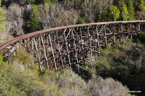 Mexican Canyon Trestle — Built in 1899