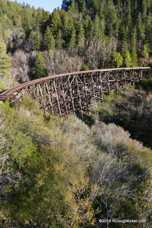 Last, favorite look at Mexican Canyon Trestle