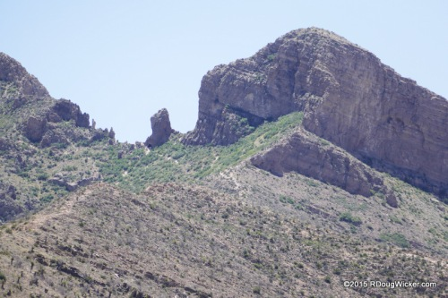 Elephant Rock, South Franklin Peak, El Paso