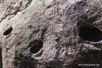 Historical Inscription — Newell, February 27, 1884