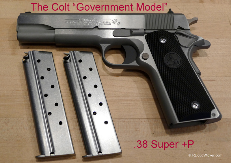 Stainless Colt  38 Super +P M1991A1 — How do you go bankrupt making