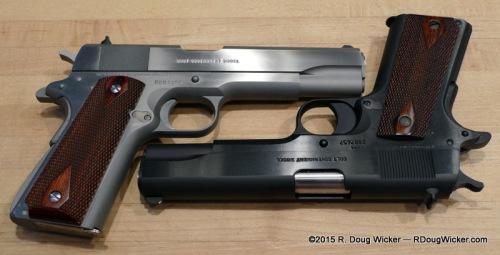 Mk. IV Series 70 versus M1991A1 Series 80