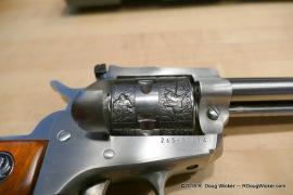 Talo Single-Six Cowboy engraving
