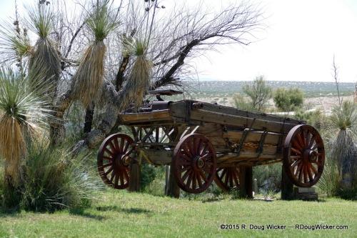 Ancient buckboard