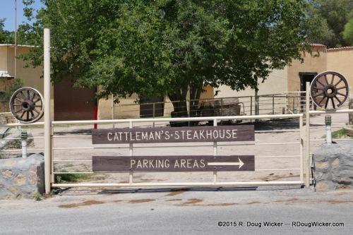 Cattleman's parking