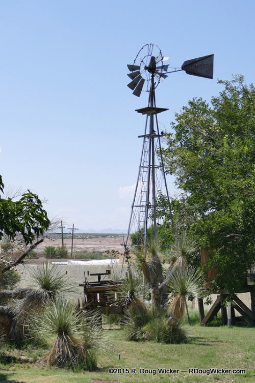 Old West-style Windpump for well water