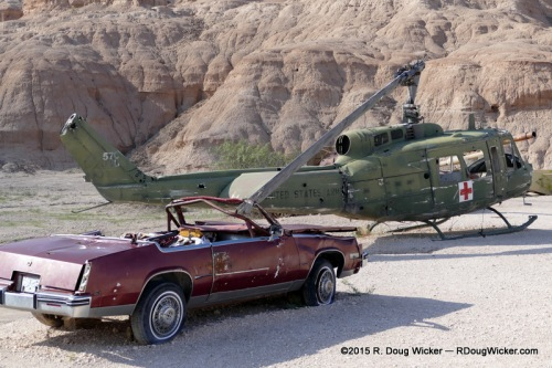 """Cadillac used in the 1998 motion picture """"On the Border"""""""