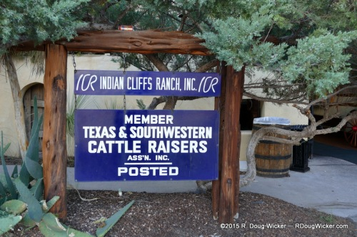 Indian Cliffs Ranch — Member of the Texas & Southwestern Cattle Raisers Association
