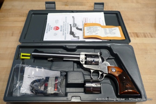 Ruger Single-Six Convertible — what's in the case