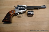 Ruger Single-Six with .22LR and .22WMRF cylinders