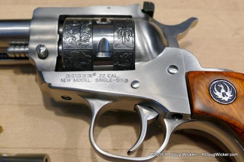 Engraved .22LR cylinder