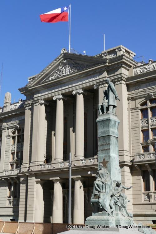 Palacio de los Tribunales de Justicia de Santiago